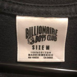 Billionaire Boys Club Shirts - Billionaire boys club graphic t shirt black/orange